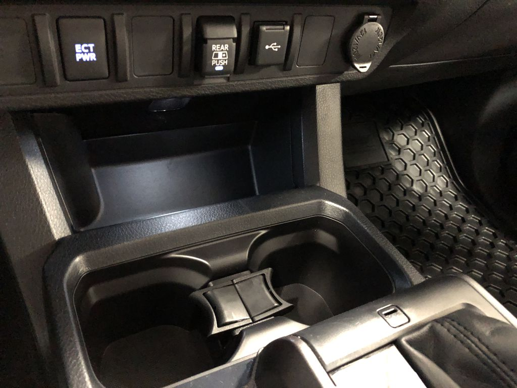 Cement Grey Metallic 2020 Toyota Tacoma 4x4 Double Cab TRD Off Road (Short Box) Engine Compartment Photo in Edmonton AB