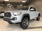 Cement Grey Metallic 2020 Toyota Tacoma 4x4 Double Cab TRD Off Road (Short Box) Left Side Rear Seat  Photo in Edmonton AB