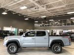 Cement Grey Metallic 2020 Toyota Tacoma 4x4 Double Cab TRD Off Road (Short Box) Left Side Photo in Edmonton AB