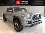 Cement Grey Metallic 2020 Toyota Tacoma 4x4 Double Cab TRD Off Road (Short Box) Primary Listing Photo in Edmonton AB