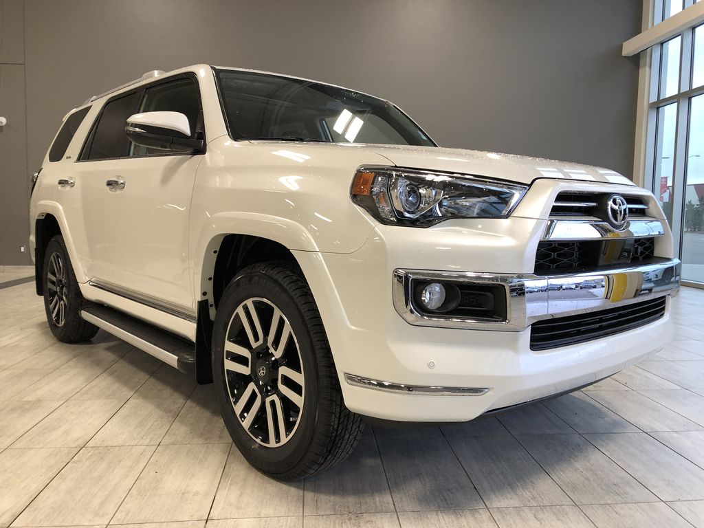 Blizzard Pearl 2021 Toyota 4Runner Limited Left Front Interior Photo in Edmonton AB