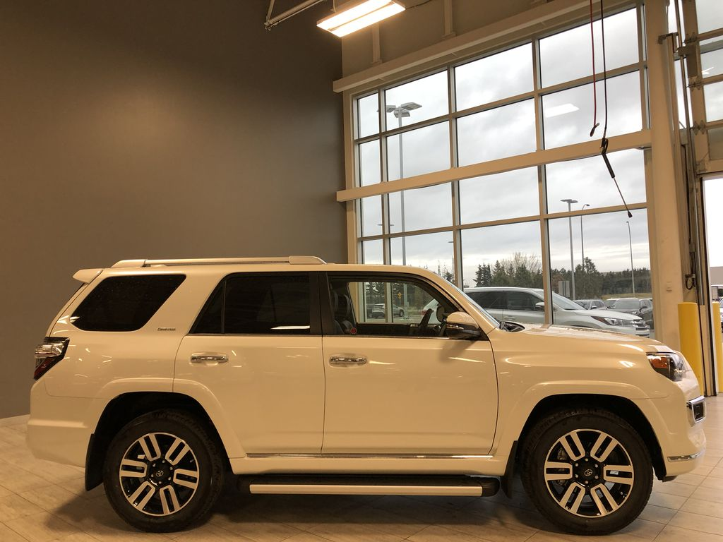 Blizzard Pearl 2021 Toyota 4Runner Limited Right Rear Corner Photo in Edmonton AB
