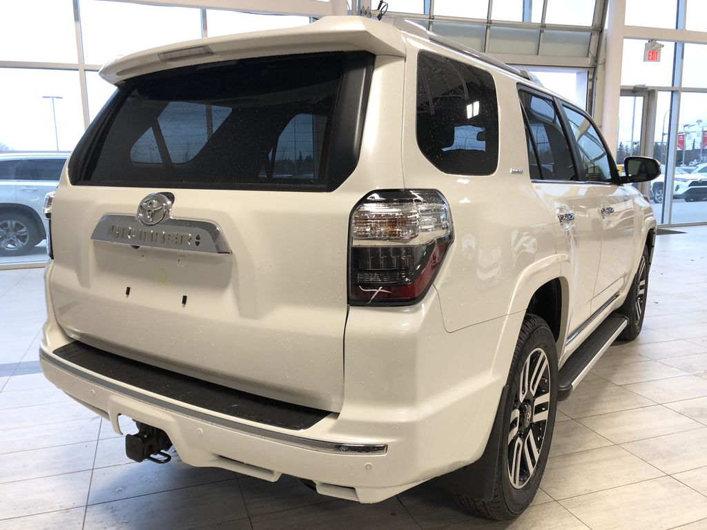 Blizzard Pearl 2021 Toyota 4Runner Limited Rear of Vehicle Photo in Edmonton AB