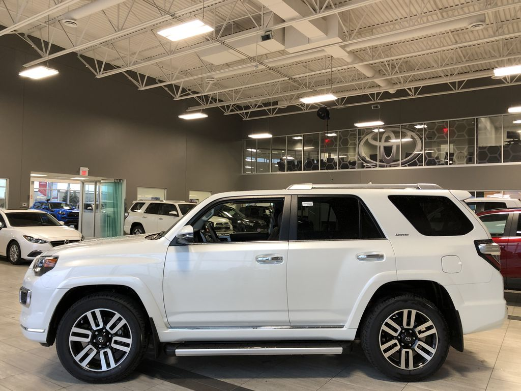Blizzard Pearl 2021 Toyota 4Runner Limited Left Side Photo in Edmonton AB