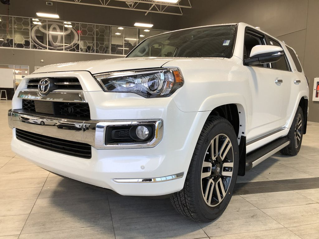 Blizzard Pearl 2021 Toyota 4Runner Limited Left Side Rear Seat  Photo in Edmonton AB