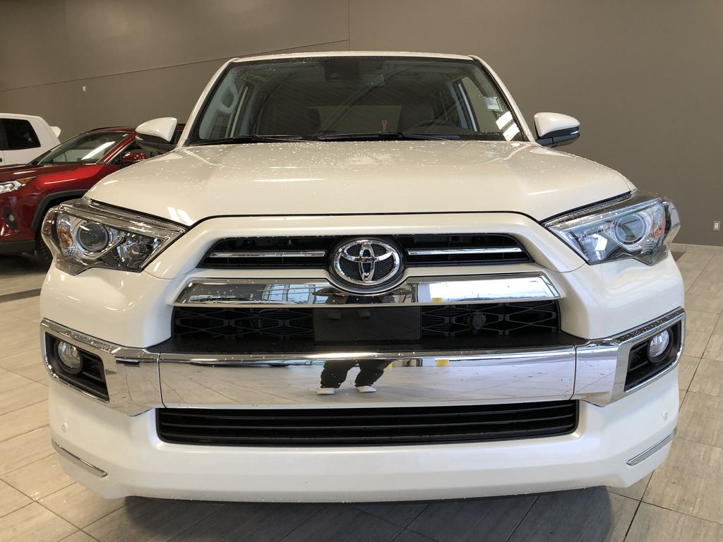 Blizzard Pearl 2021 Toyota 4Runner Limited Odometer Photo in Edmonton AB