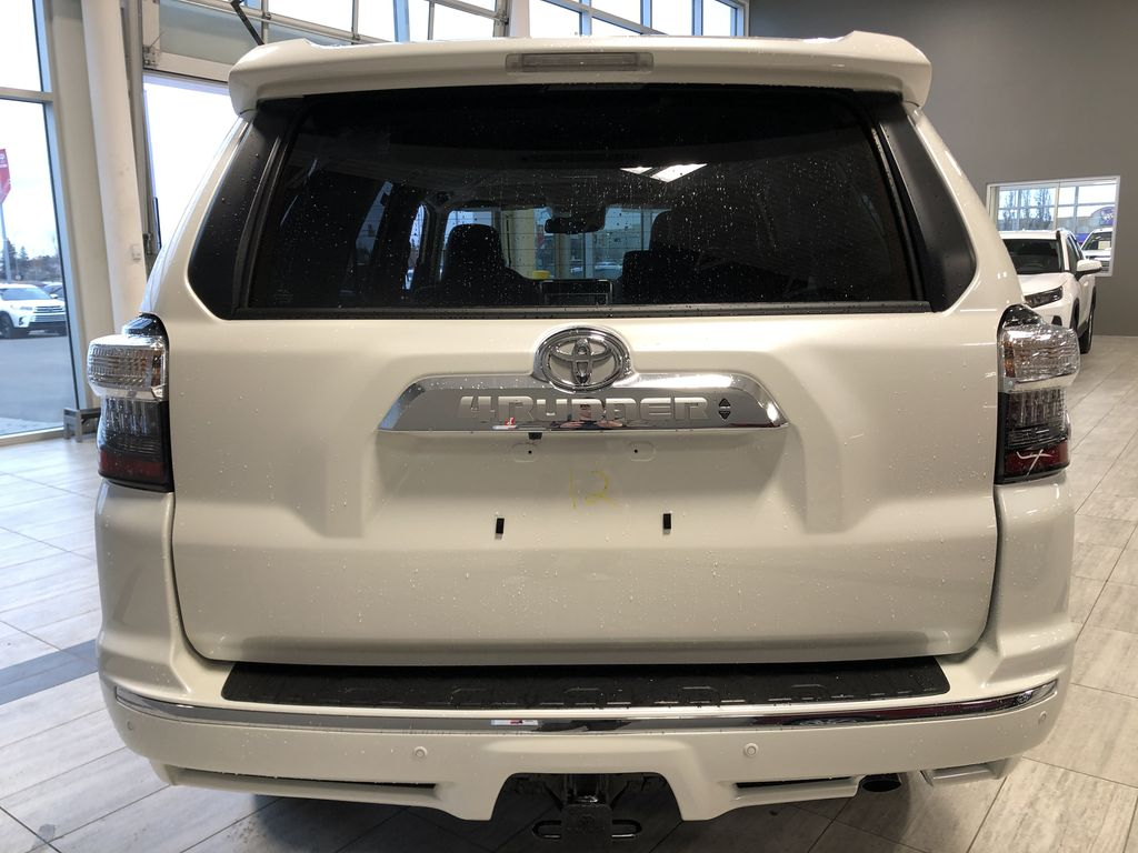 Blizzard Pearl 2021 Toyota 4Runner Limited Trunk / Cargo Area Photo in Edmonton AB