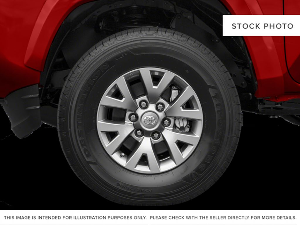 Tan[Quicksand] 2016 Toyota Tacoma Left Front Rim and Tire Photo in Kelowna BC
