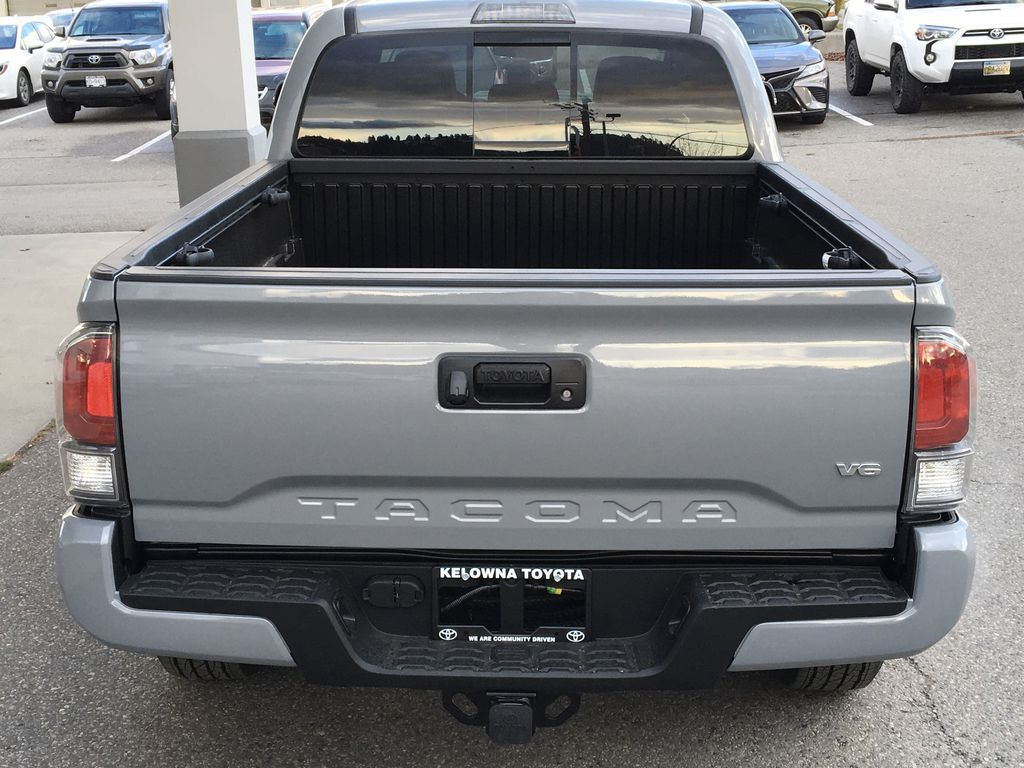 Gray[Cement] 2021 Toyota Tacoma 4WD Rear of Vehicle Photo in Kelowna BC