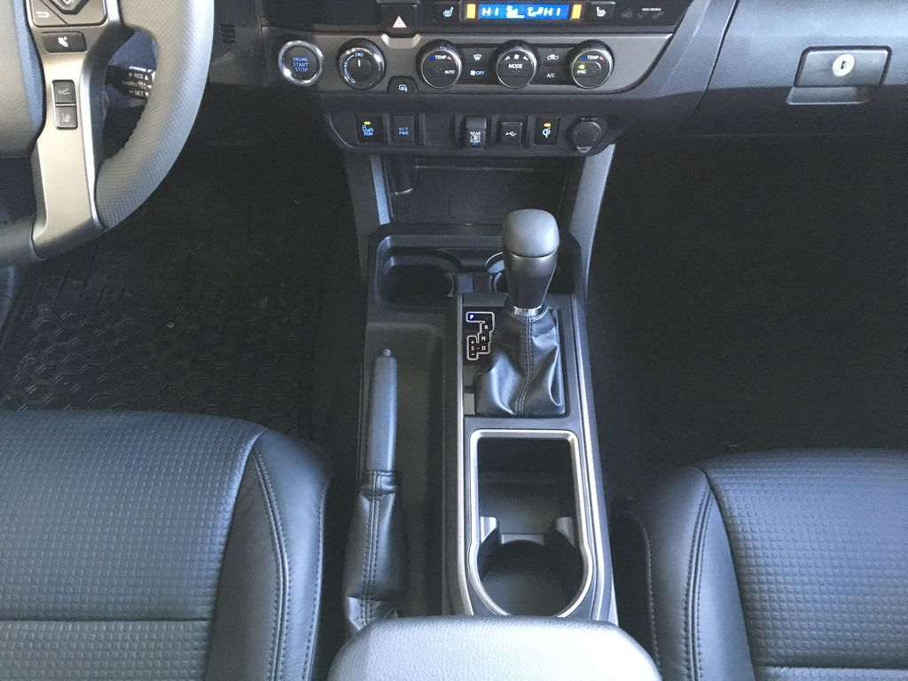 Gray[Cement] 2021 Toyota Tacoma 4WD Center Console Photo in Kelowna BC