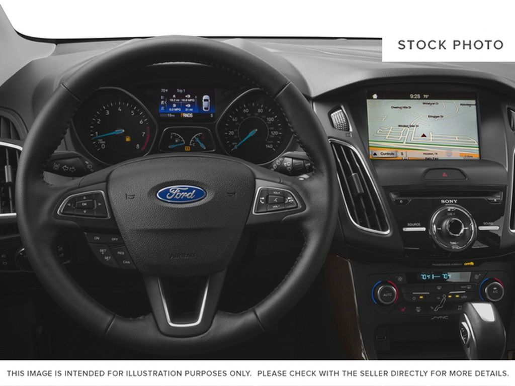 2018 Ford Focus Steering Wheel and Dash Photo in Medicine Hat AB