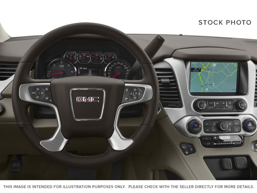 2017 GMC Yukon XL Steering Wheel and Dash Photo in Medicine Hat AB