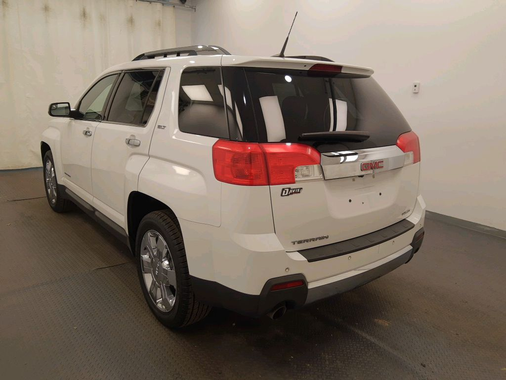 White 2012 GMC Terrain Left Front Head Light / Bumper and Grill in Lethbridge AB