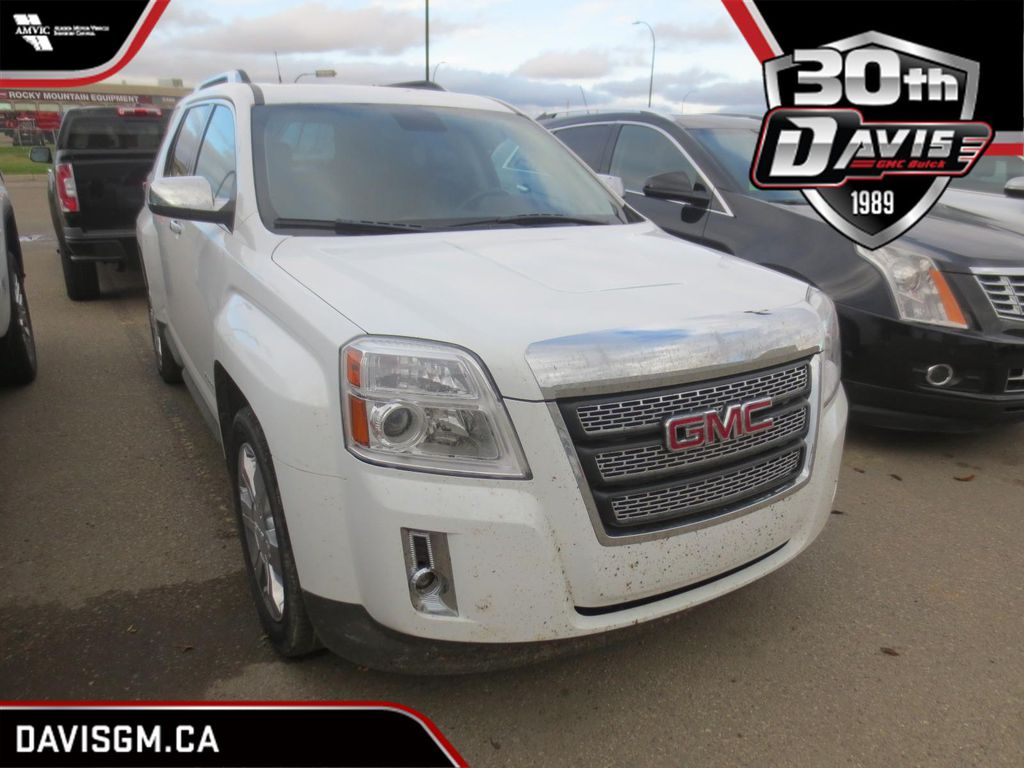White 2012 GMC Terrain