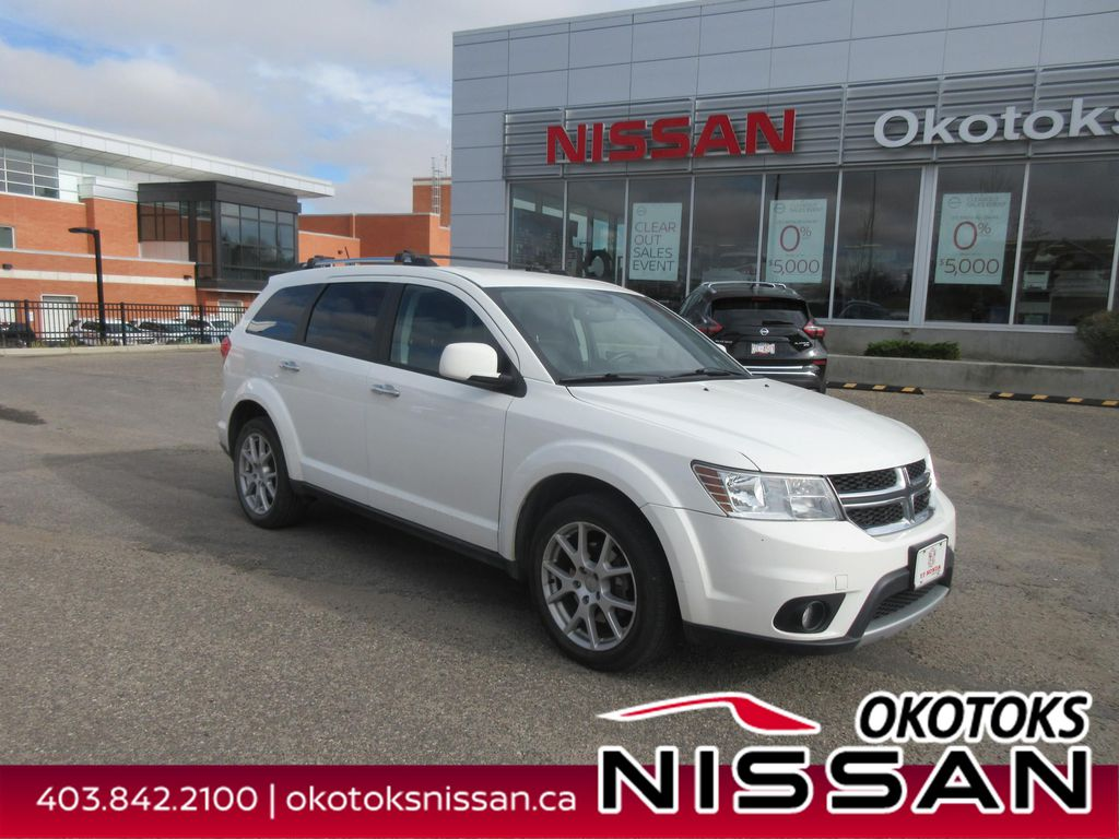 White[White] 2016 Dodge Journey