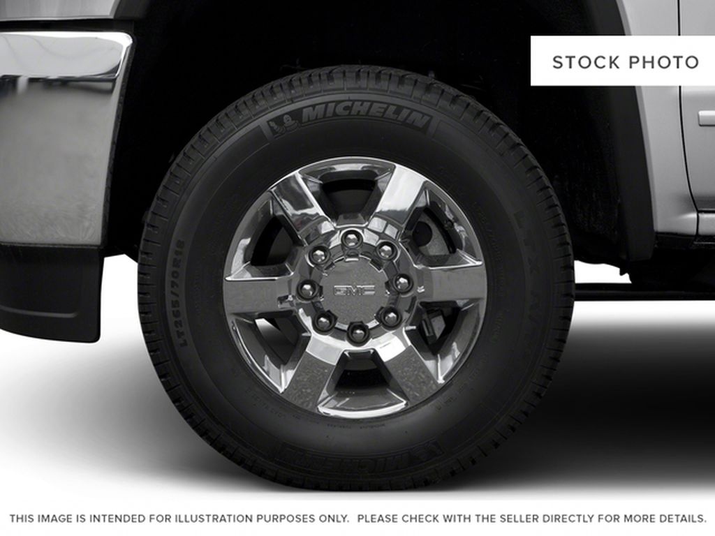 Blue[Stone Blue Metallic] 2018 GMC Sierra 3500HD Left Front Rim and Tire Photo in Fort Macleod AB