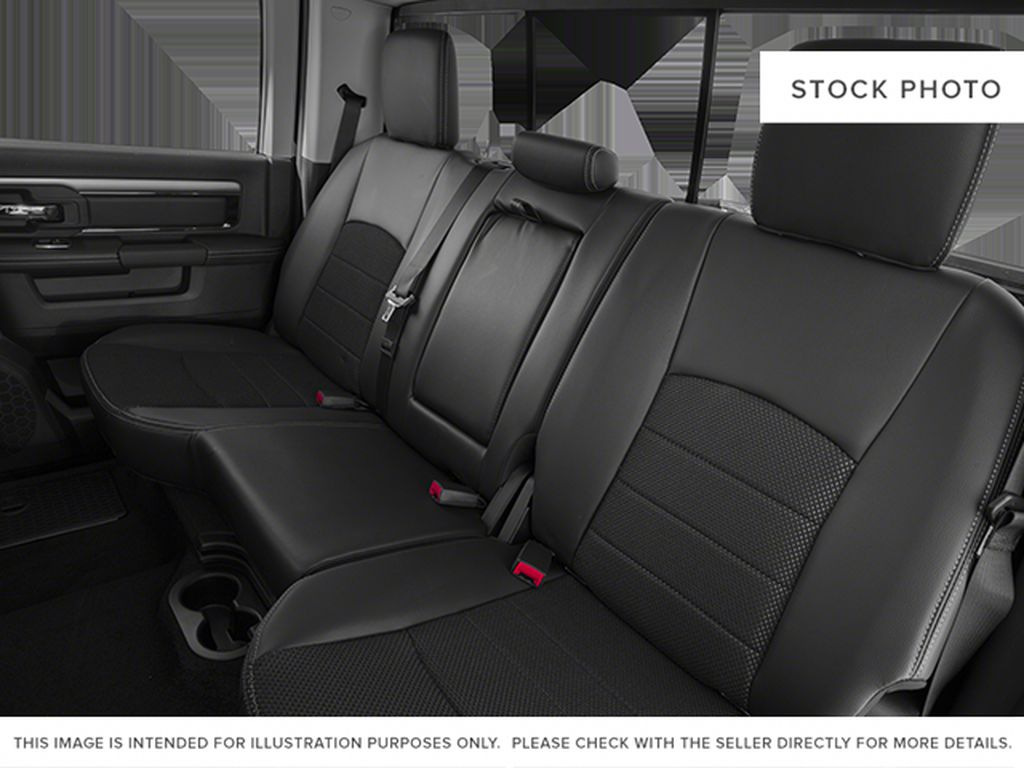 White[Bright White Clearcoat] 2014 Ram 1500 Left Side Rear Seat  Photo in Fort Macleod AB