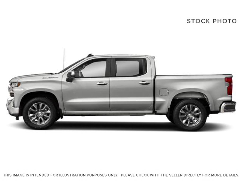 Silver[Silver Ice Metallic] 2019 Chevrolet Silverado 1500 Left Side Photo in Fort Macleod AB