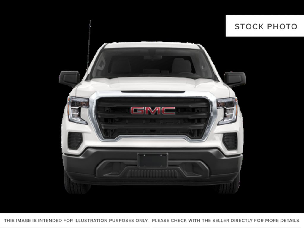 White[White Frost Tricoat] 2019 GMC Sierra 1500 Front Vehicle Photo in Fort Macleod AB