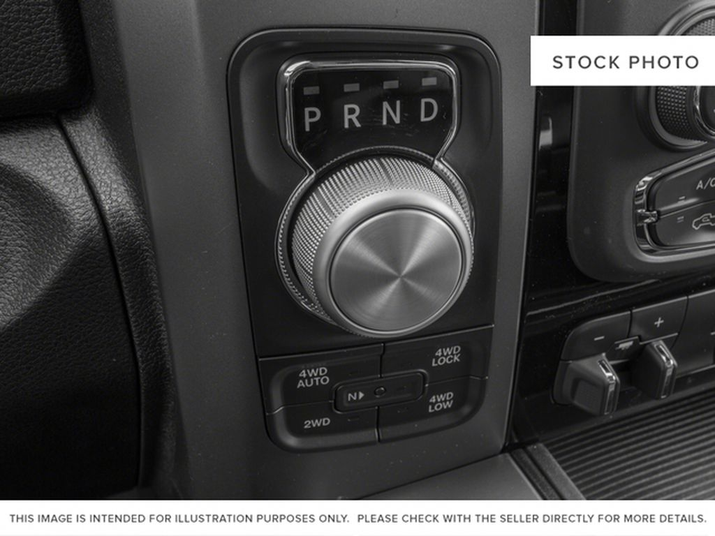 Silver[Bright Silver Metallic] 2017 Ram 1500 Center Console Photo in Fort Macleod AB