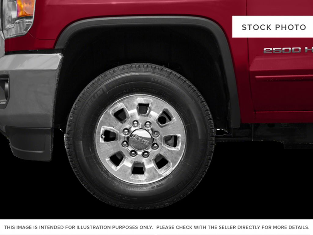 Blue[Cobalt Blue Metallic] 2015 GMC Sierra 2500HD Left Front Rim and Tire Photo in Fort Macleod AB