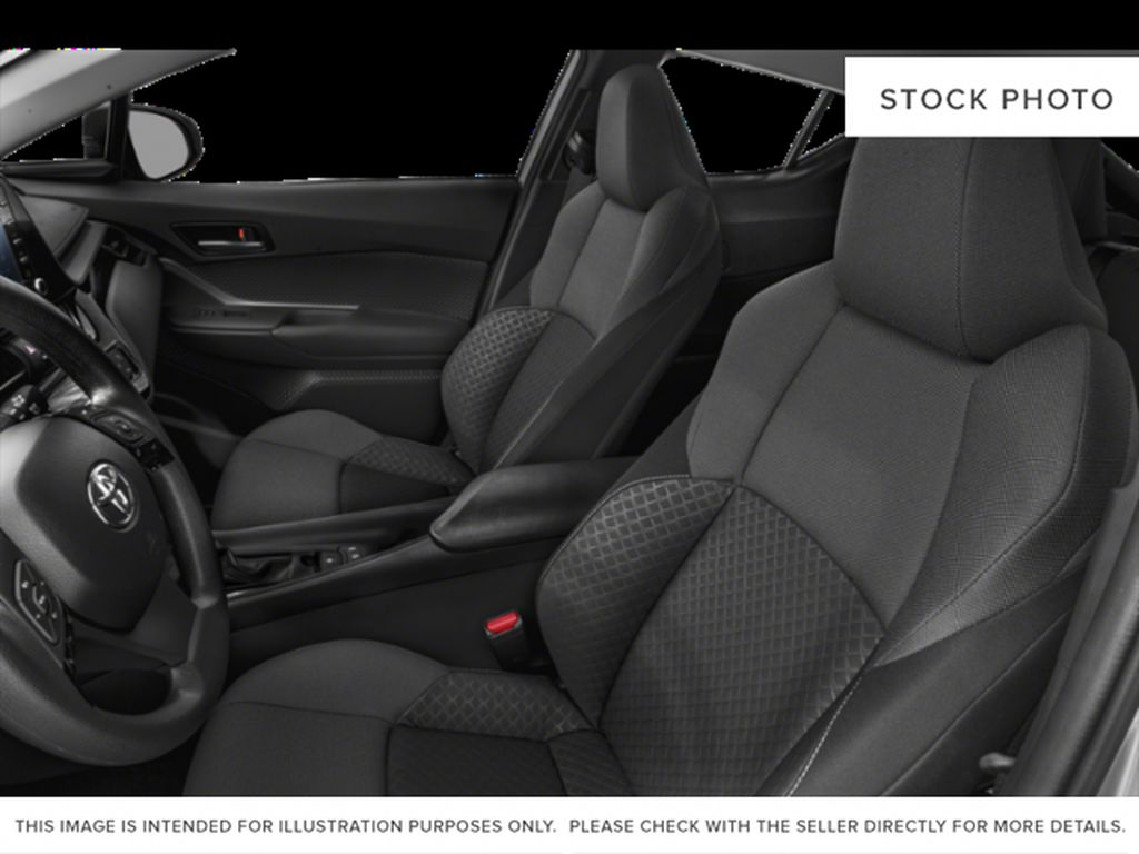 White[Blizzard Pearl] 2021 Toyota C-HR Front Vehicle Photo in Brockville ON