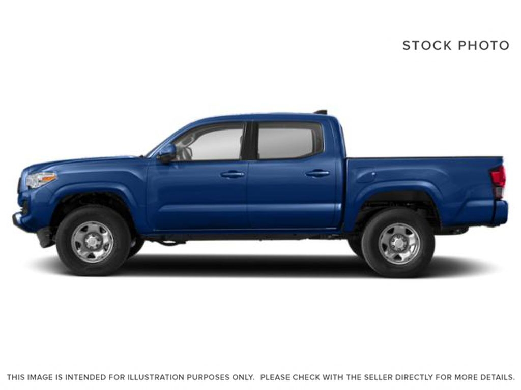 Blue[Voodoo Blue] 2021 Toyota Tacoma 4WD Left Front Rim and Tire Photo in Brockville ON