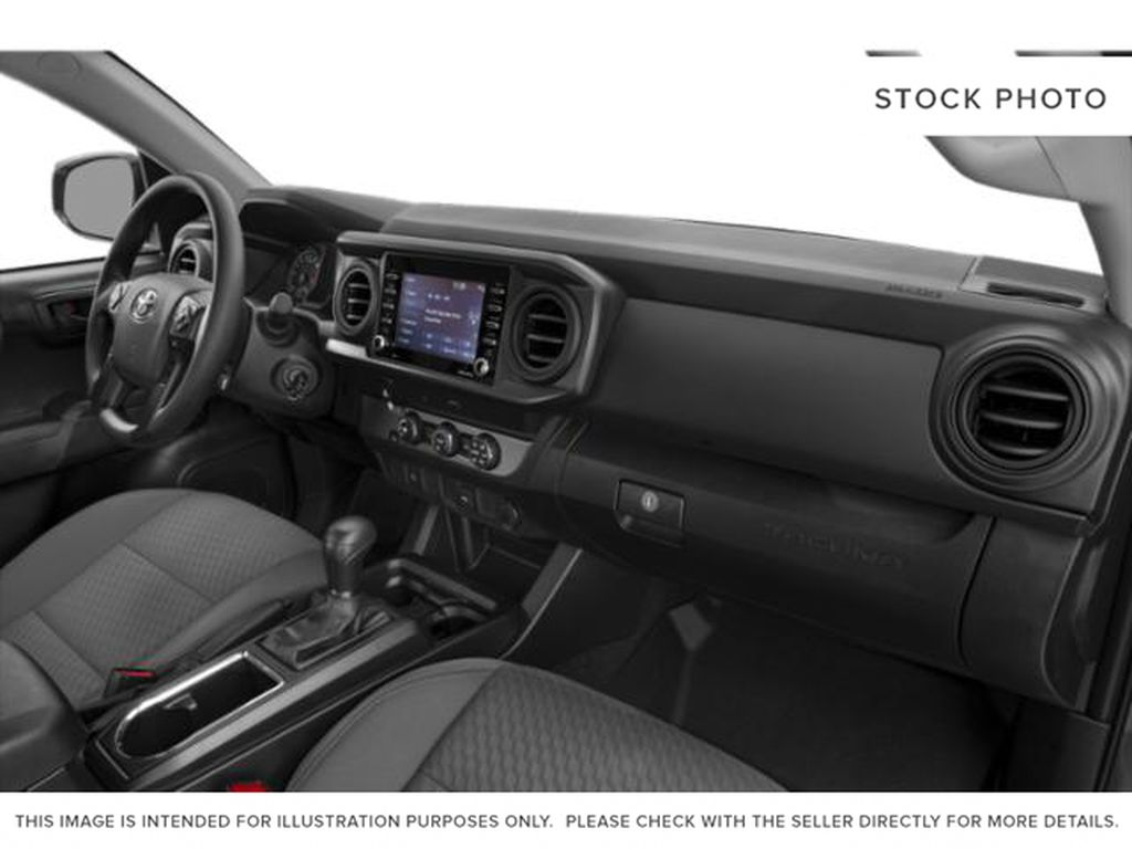 Blue[Voodoo Blue] 2021 Toyota Tacoma 4WD Steering Wheel and Dash Photo in Brockville ON