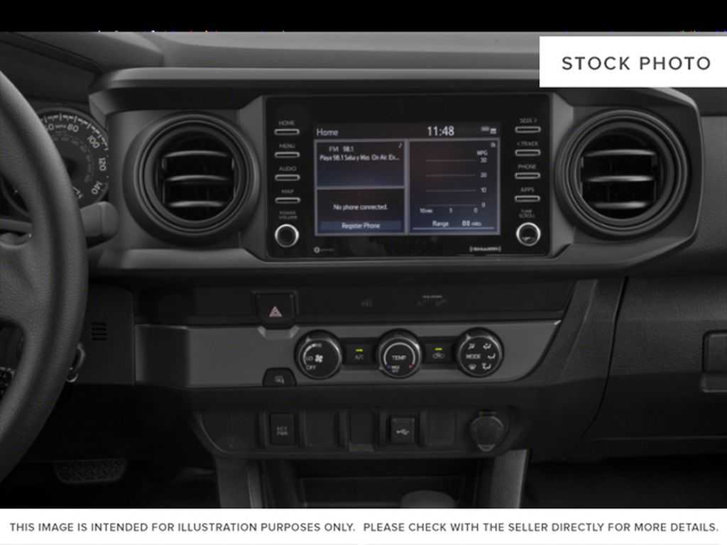 Blue[Voodoo Blue] 2021 Toyota Tacoma 4WD Engine Compartment Photo in Brockville ON