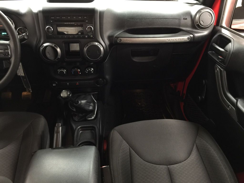 Red[Firecracker Red] 2017 Jeep Wrangler Right Front Seat Photo in Sherwood Park AB