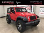 Red[Firecracker Red] 2017 Jeep Wrangler Primary Listing Photo in Sherwood Park AB