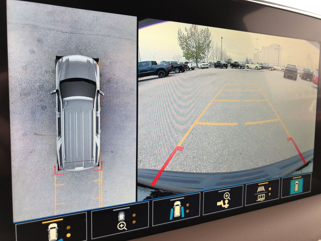 Black[Black] 2021 Chevrolet Tahoe Backup Camera Closeup Photo in Edmonton AB