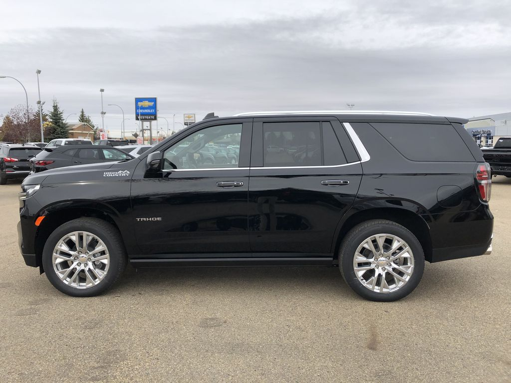 Black[Black] 2021 Chevrolet Tahoe Left Side Photo in Edmonton AB