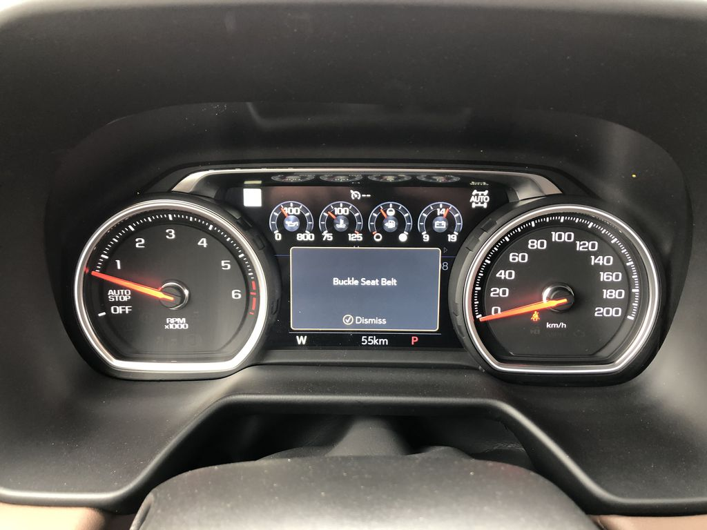 Black[Black] 2021 Chevrolet Tahoe Odometer Photo in Edmonton AB