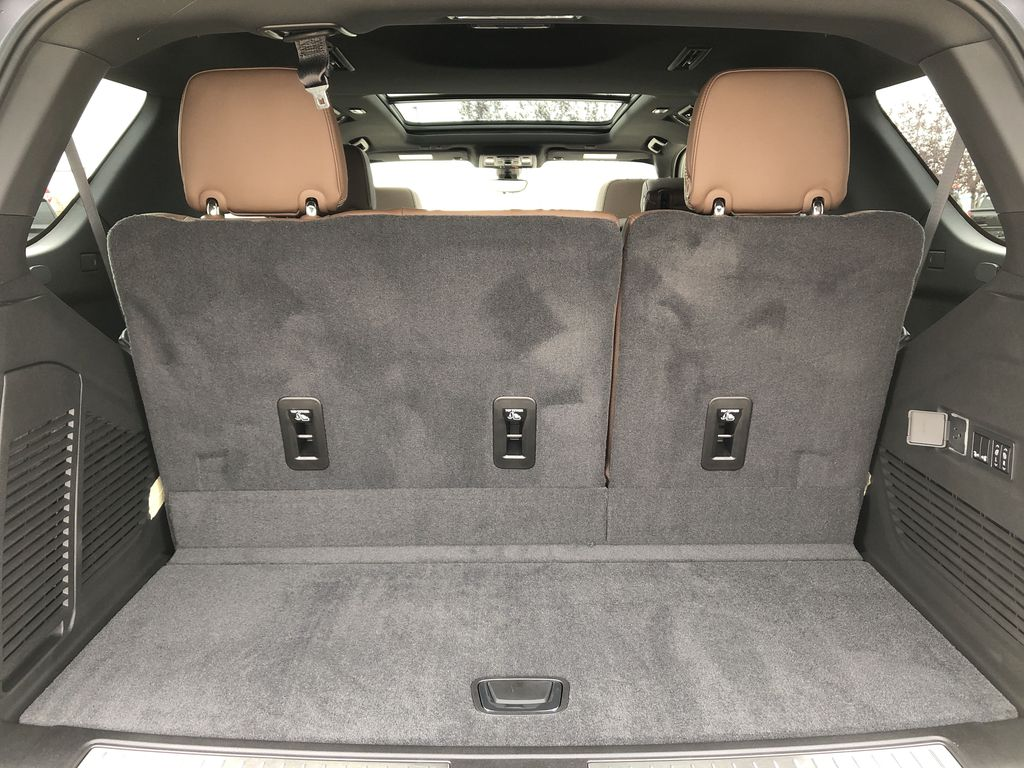 Black[Black] 2021 Chevrolet Tahoe Trunk / Cargo Area Photo in Edmonton AB