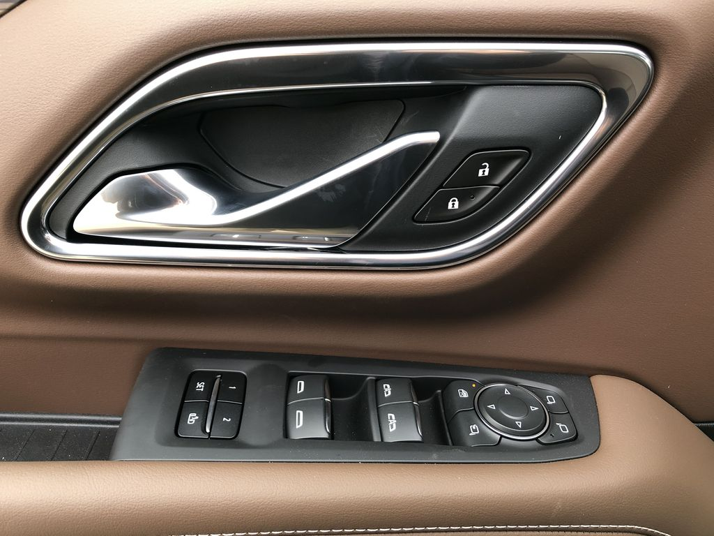 Black[Black] 2021 Chevrolet Tahoe  Driver's Side Door Controls Photo in Edmonton AB