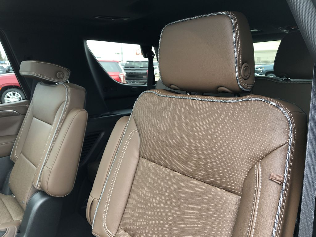 Black[Black] 2021 Chevrolet Tahoe Left Side Rear Seat  Photo in Edmonton AB