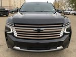 Black[Black] 2021 Chevrolet Tahoe Front Vehicle Photo in Edmonton AB