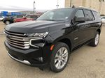 Black[Black] 2021 Chevrolet Tahoe Left Front Corner Photo in Edmonton AB