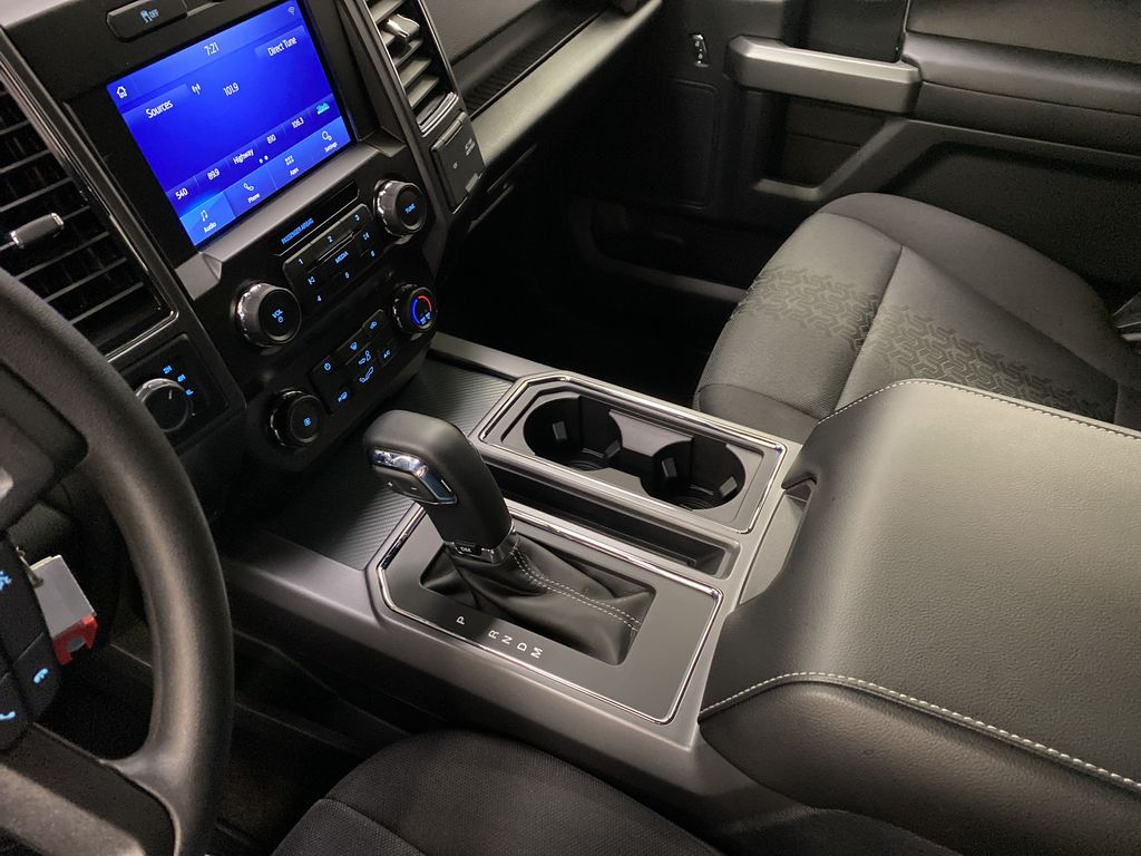 Blue[Velocity Blue] 2020 Ford F-150 Center Console Photo in Dartmouth NS