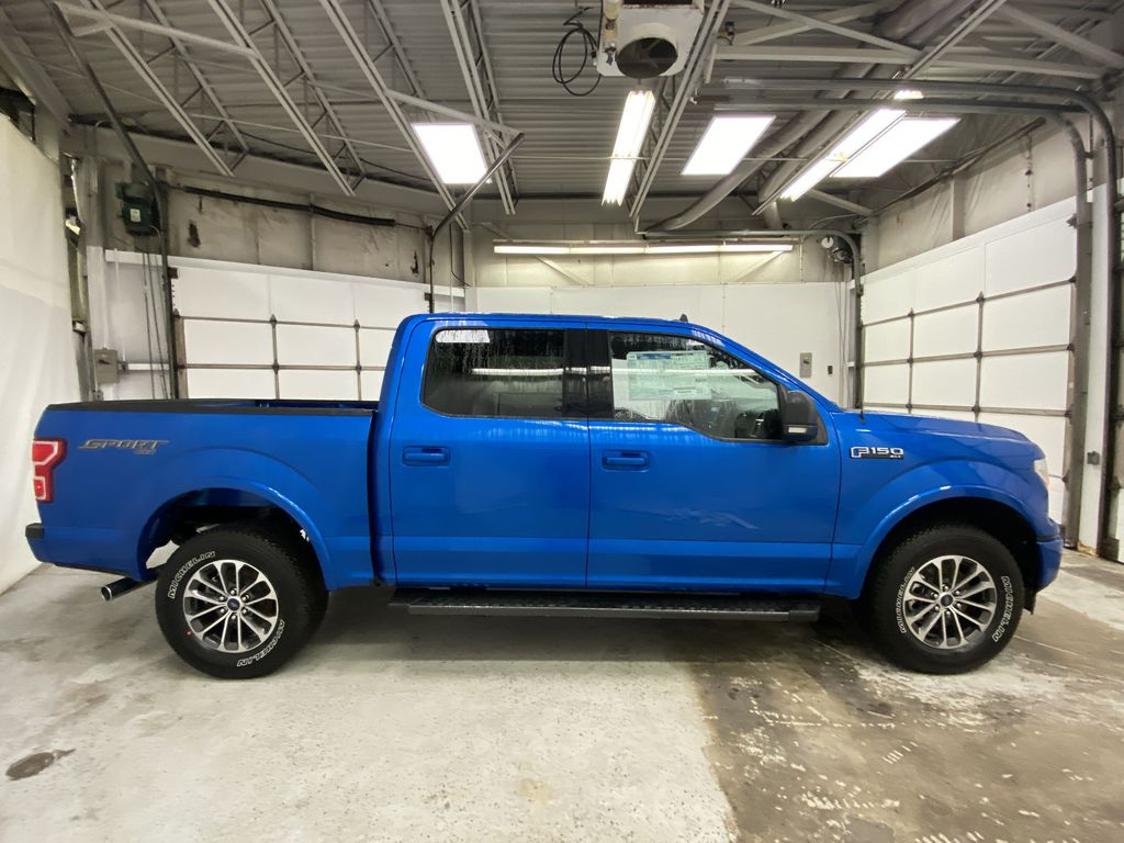 Blue[Velocity Blue] 2020 Ford F-150 Right Side Photo in Dartmouth NS