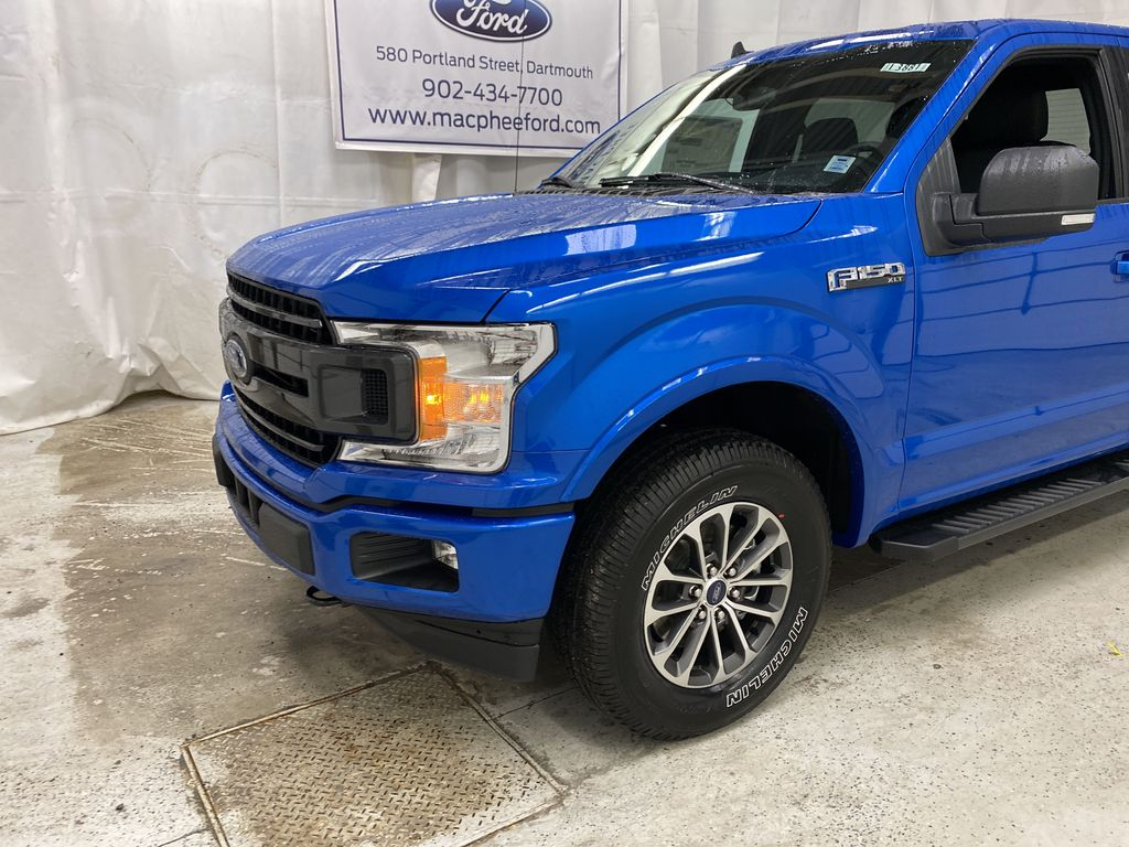 Blue[Velocity Blue] 2020 Ford F-150 Left Front Corner Photo in Dartmouth NS
