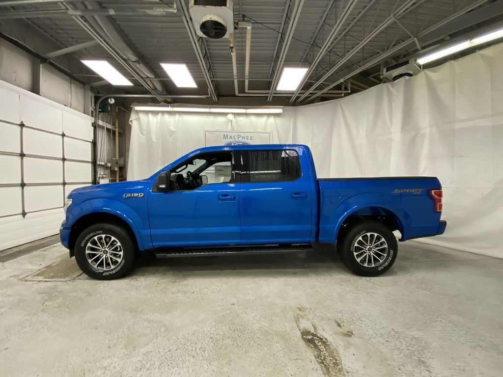 Blue[Velocity Blue] 2020 Ford F-150 Left Side Photo in Dartmouth NS