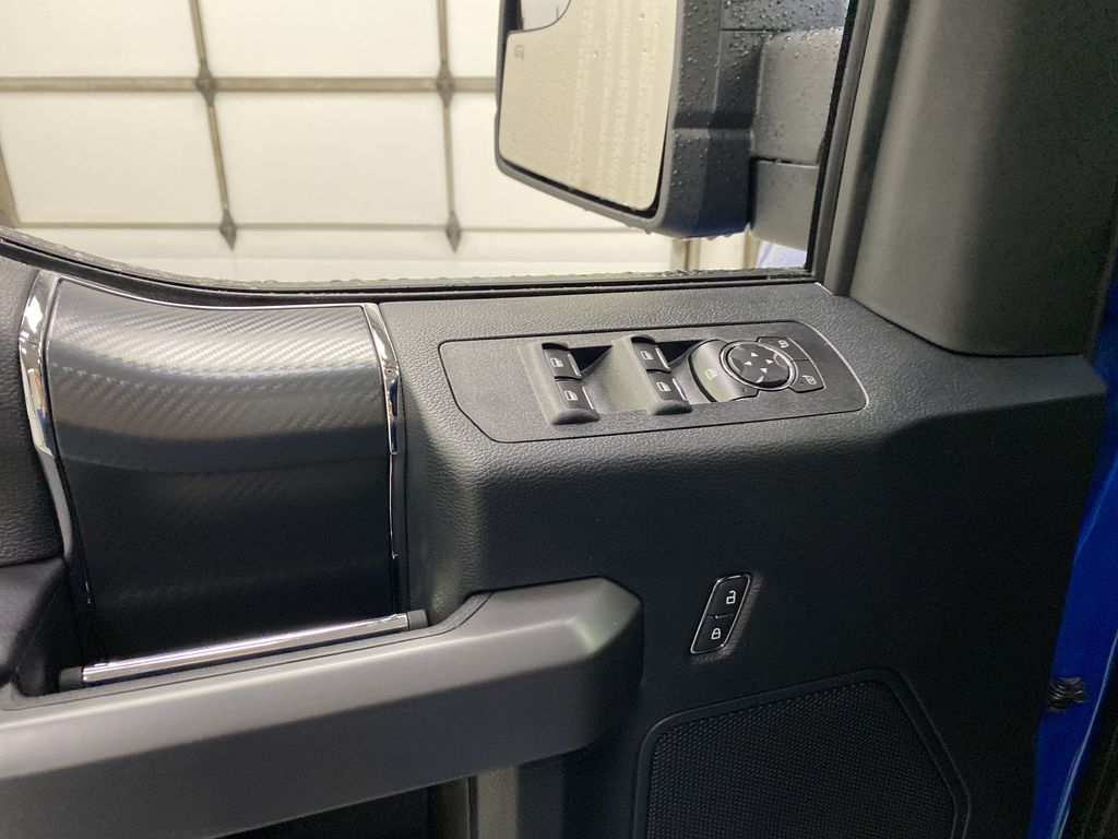 Blue[Velocity Blue] 2020 Ford F-150  Driver's Side Door Controls Photo in Dartmouth NS