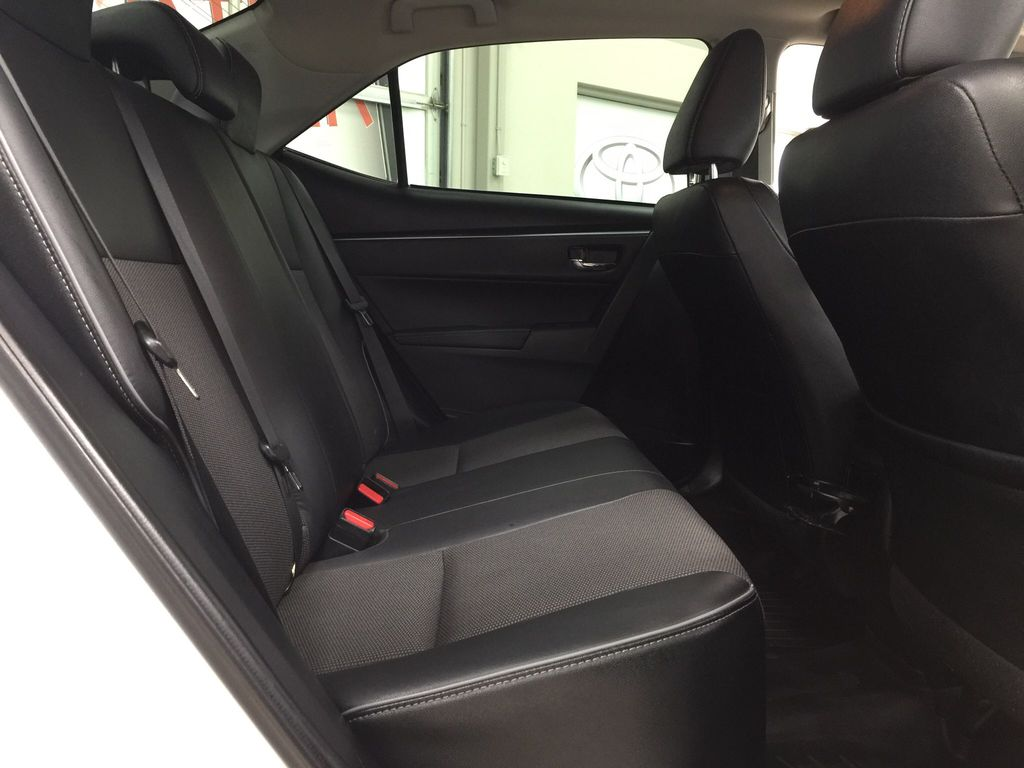 White[Alpine White] 2014 Toyota Corolla S Upgrade Right Side Rear Seat  Photo in Sherwood Park AB