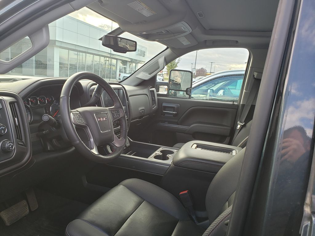 Grey 2019 GMC Sierra 3500HD Left Front Interior Photo in Lethbridge AB