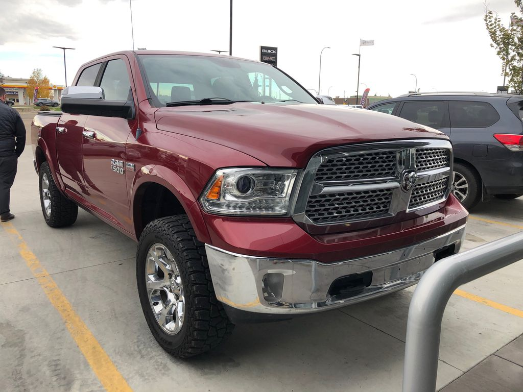 Red[PR4,Flame Red] 2013 Ram 1500 Laramie