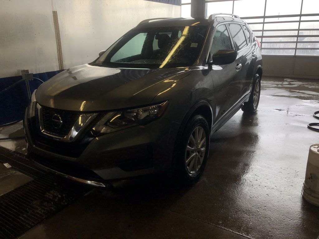 GREY 2020 Nissan Rogue AWD Special Edition - Backup Camera, Blind Spot Monitor, Apple CarPlay Left Front Corner Photo in Edmonton AB