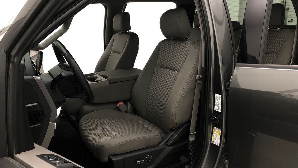 Gray[Magnetic] 2016 Ford F-150 XLT XTR 4WD - SuperCrew, V6, Running Boards Left Front Interior Photo in Winnipeg MB