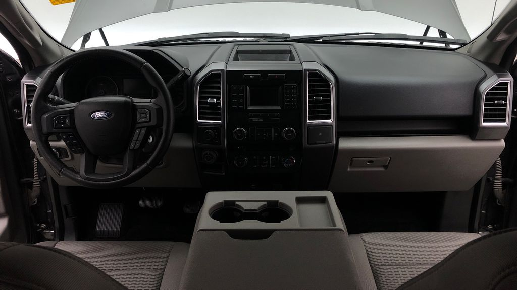 Gray[Magnetic] 2016 Ford F-150 XLT XTR 4WD - SuperCrew, V6, Running Boards Central Dash Options Photo in Winnipeg MB